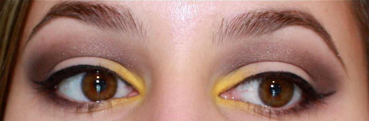 Yellow Eyeshadow Tutorial