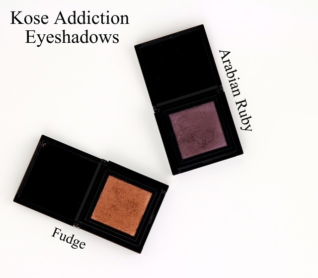 Kose Addiction Eyeshadows – First Impressions