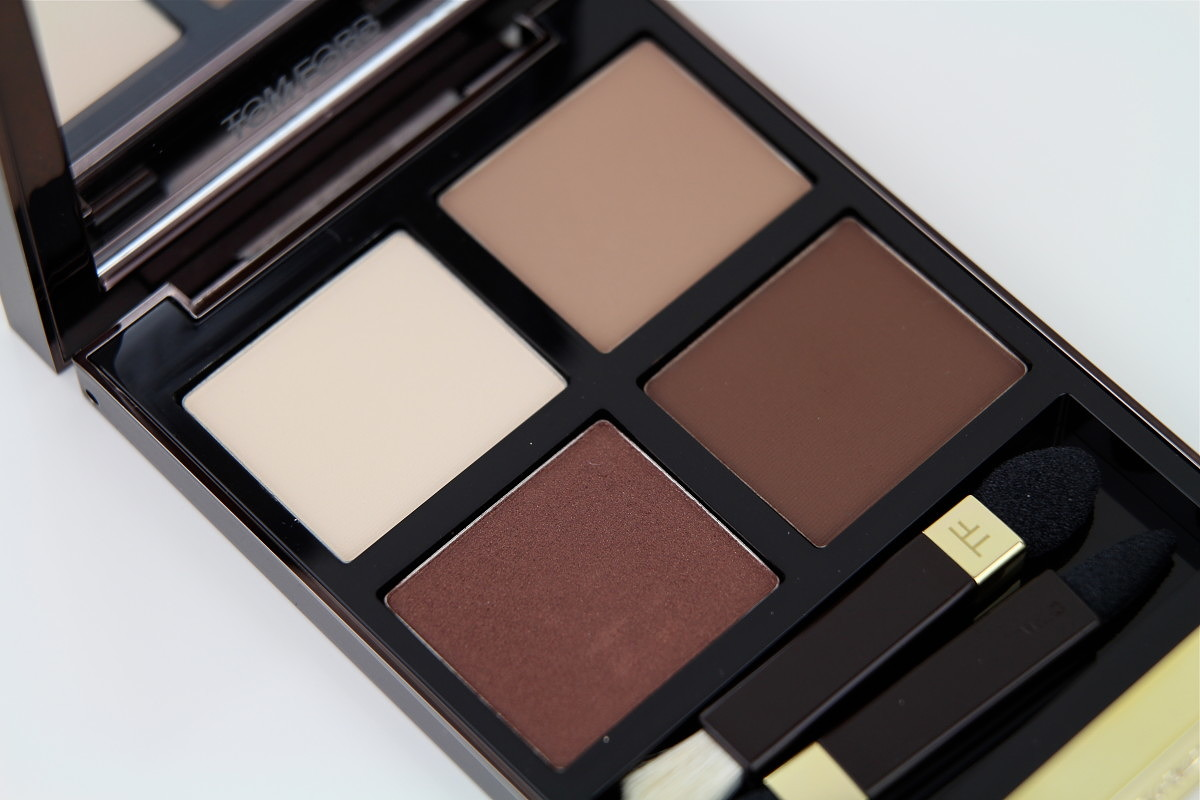 Tom Ford Cocoa Mirage Eyeshadow Quad Review Swatches Shameless