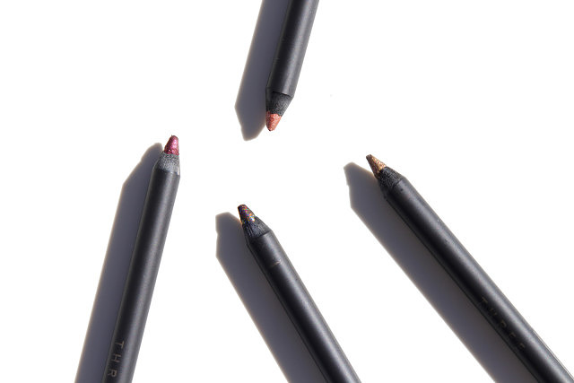 THREE Flash Performance Eyeliner Pencils (01, 03, 05, 07)