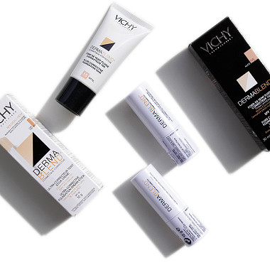 Vichy Dermablend Reviews – Corrective Stick & Corrective Fluid