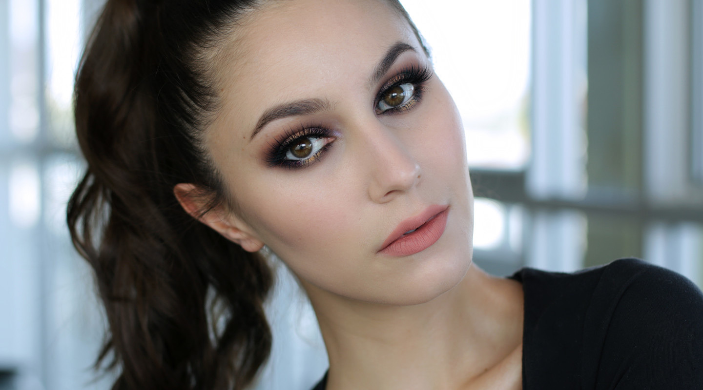 Dramatic Drugstore Makeup Tutorial (for a night out)