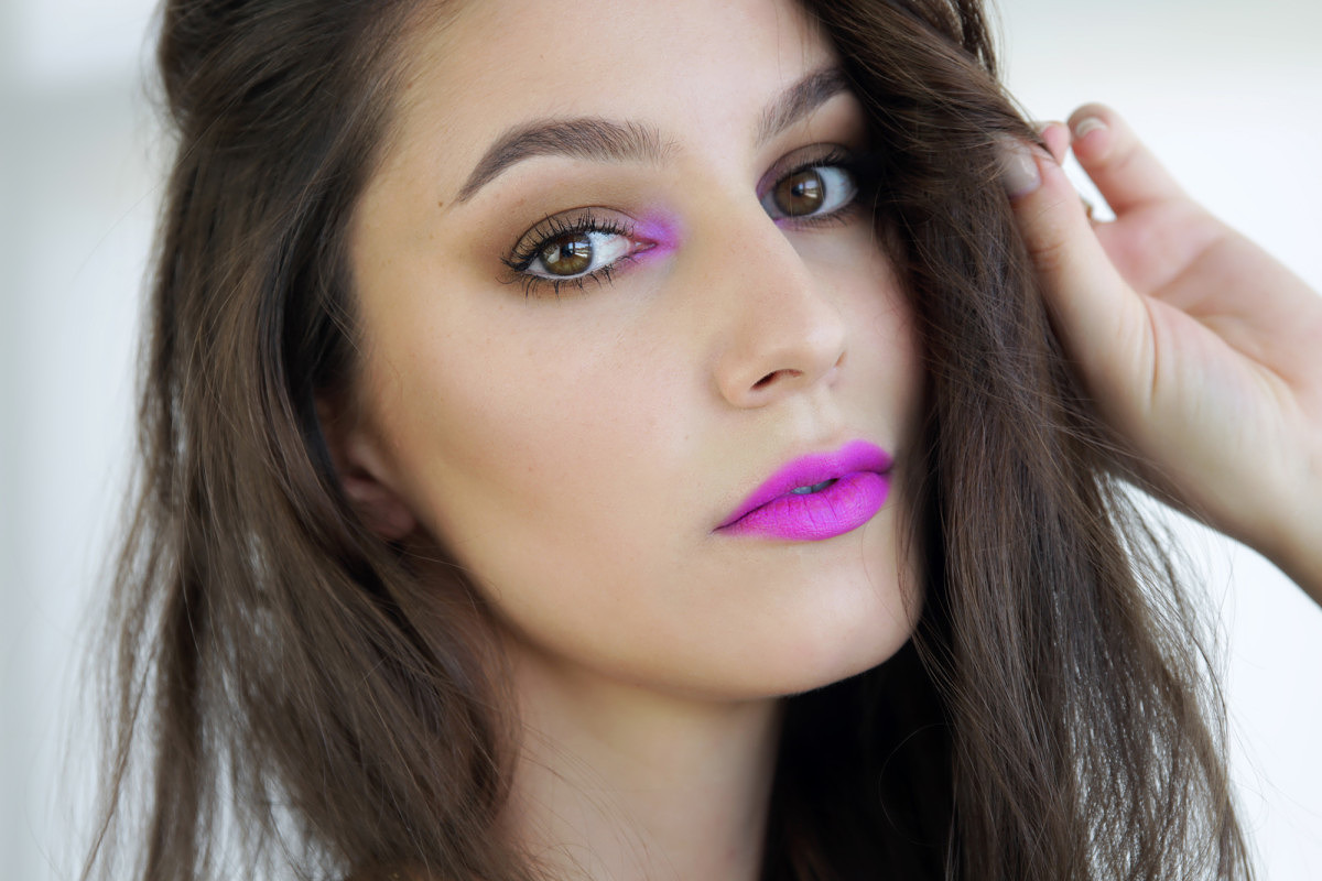 Edgy Girls Night Out Makeup Tutorial Video Shameless Fripperies