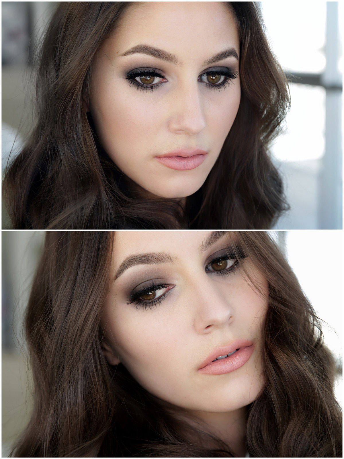 How to do eye make-up with black dress